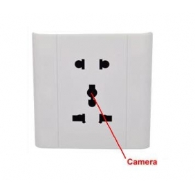 kajoin 4GB Security socket with hidden spy camera/Voice Activated Security Spy Socket Camera Record DVR
