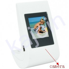 kajoin Motion Detection Hidden Digital Photo Frame Pinhole Camera DVR 8GB