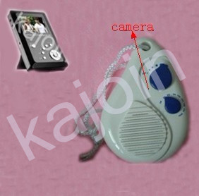 kajoin Wireless Bathroom Radio spy Camera