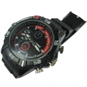 Wholesale kajoin FULL 720P Camera SPY Waterproof Watch Spy Watch Camera