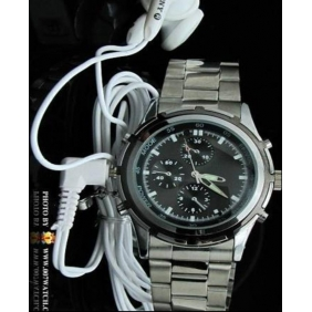 Wholesale kajoin MP3 Watch Camera Watch Mp3 DVR 4GB