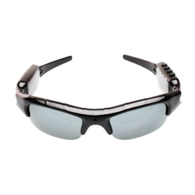 Wholesale kajoin 640x480 30fps Sunglasses Spy Camera DVR with MP3 Video Recorder Photographing Charging/ Hidden Camera