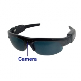 Wholesale kajoin Sunglasses Spy Camcorder with 4GB TF Card and MP3 Player - Spy Camera / Hidden Camera
